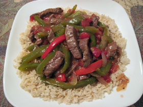 Dutch Oven Pepper Steak photo